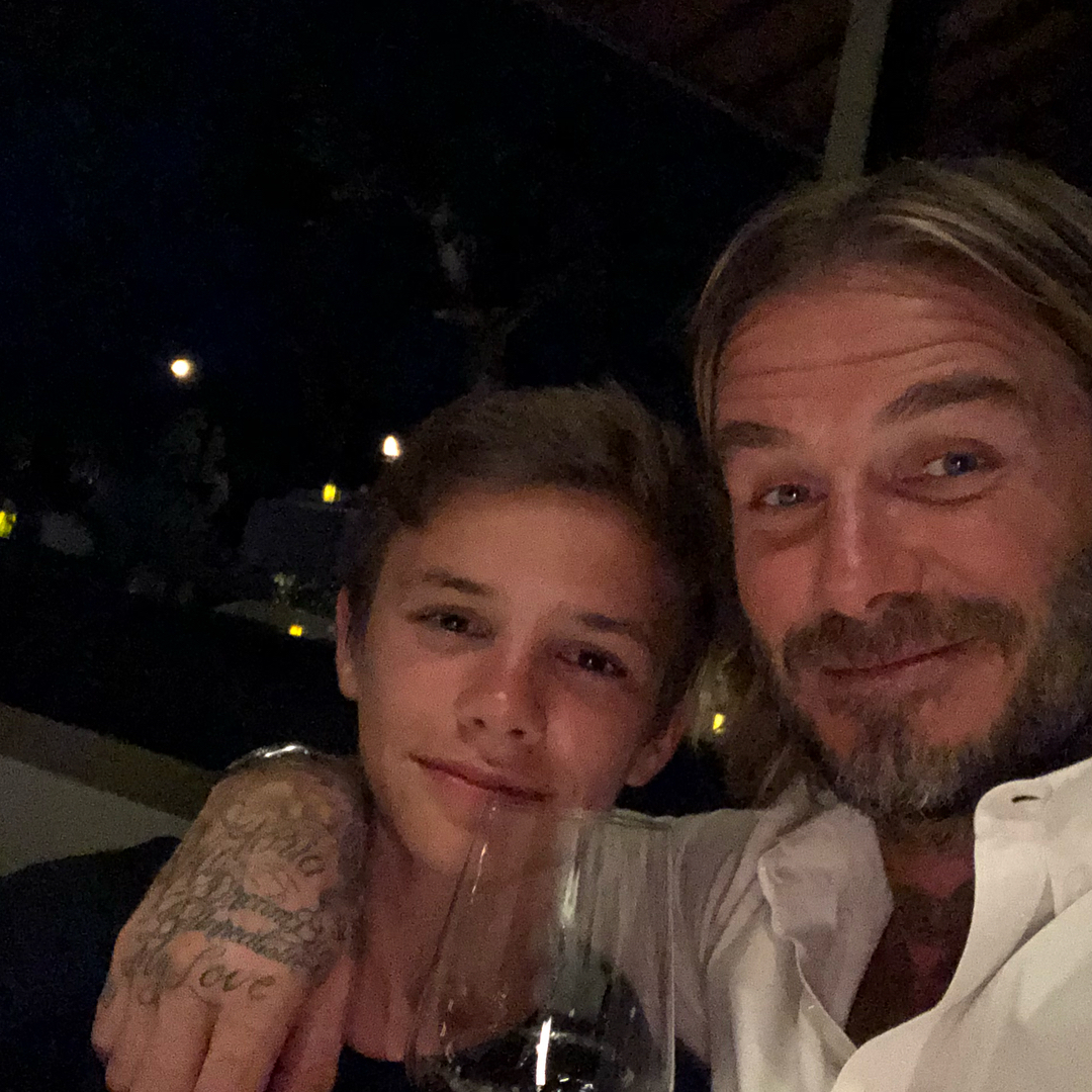 David Beckham Instagram