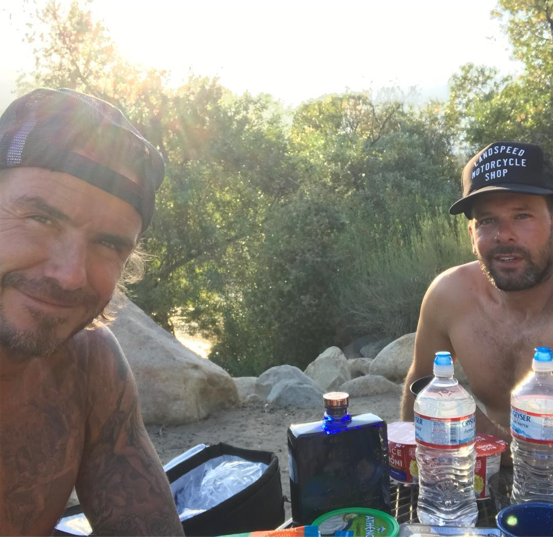 David Beckham Instagram: And Relax  ...