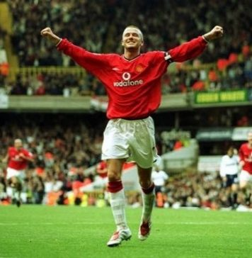 David Beckham Instagram: Being a East End boy and Manchester United fan I always loved scoring against th...