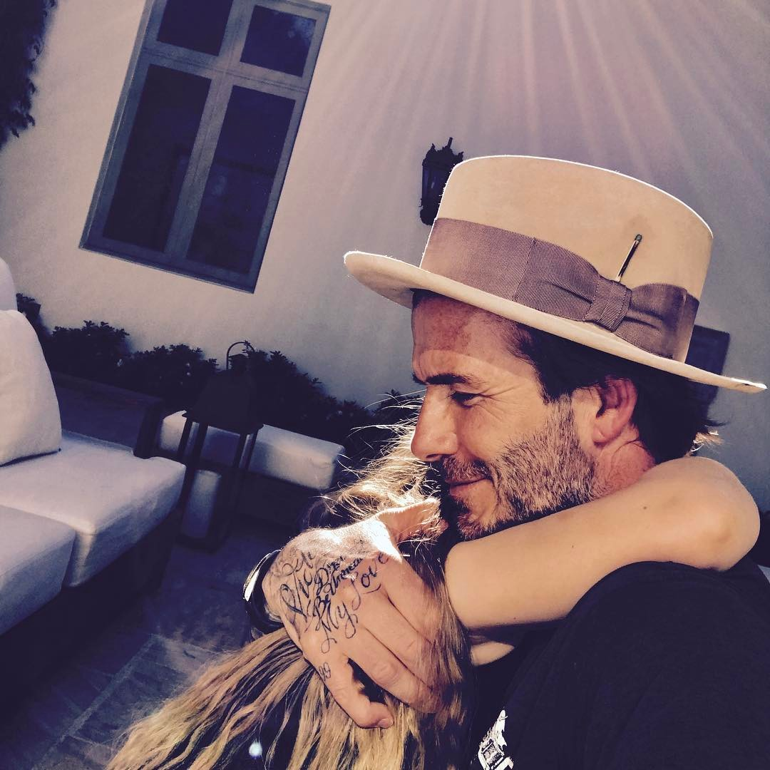 David Beckham Instagram: Easter Friday gets better ...