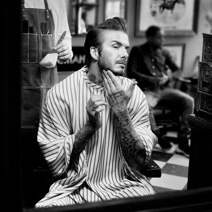 David Beckham Instagram: Getting ready for something big.   ...