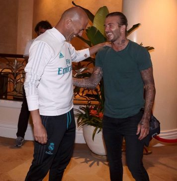 David Beckham Instagram: Good to see you Mister... Back with friends   ...