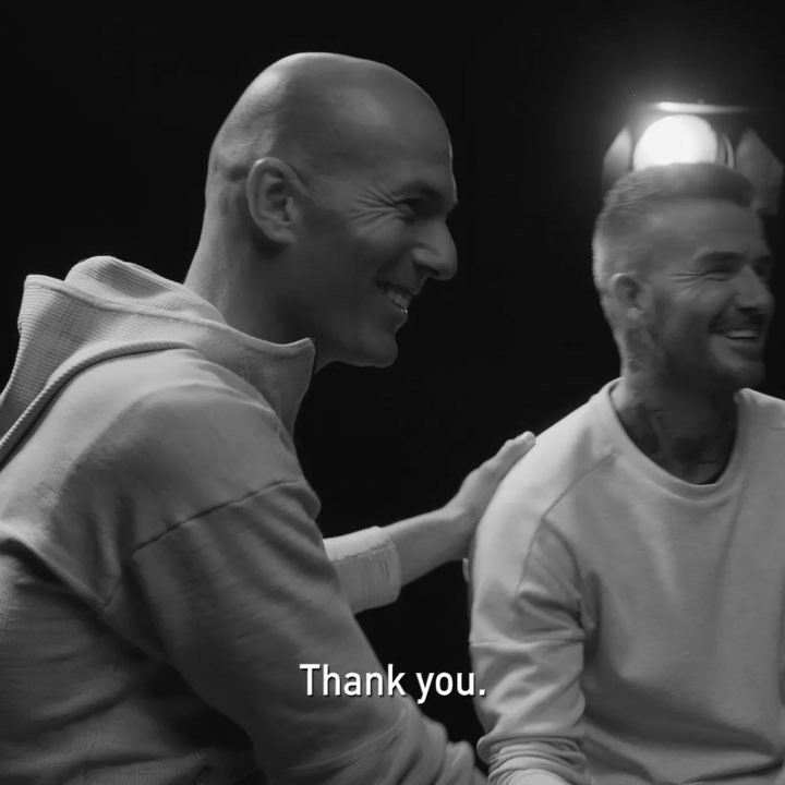 David Beckham Instagram: Great to sit down with 'The Boss' and talk about some of our European memories. ...