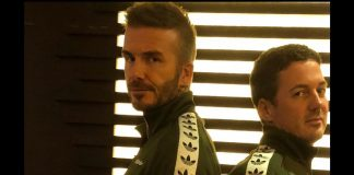 David Beckham Instagram: Happy Birthday mate...  my face when I turn up to the office and someone's weari...