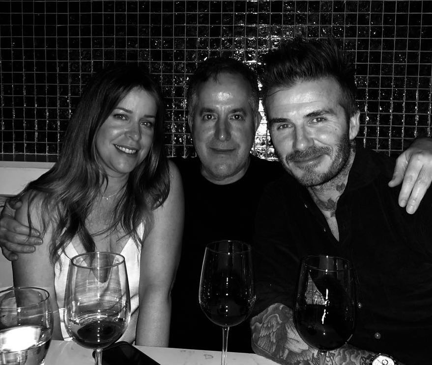 David Beckham Instagram: Happy Birthday to my partner and friend Jorge ... Great day of meetings and grea...