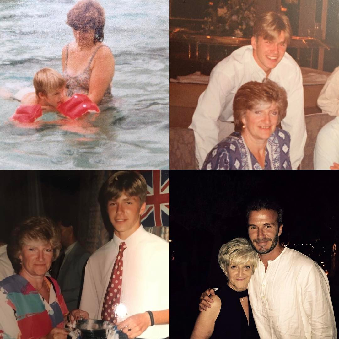 David Beckham Instagram: Happy Mother's Day to the most amazing mum... You deserve a day of love and look...