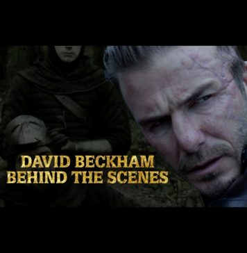 David Beckham Instagram: It was a pleasure to work with the  team on such an amazing film ...