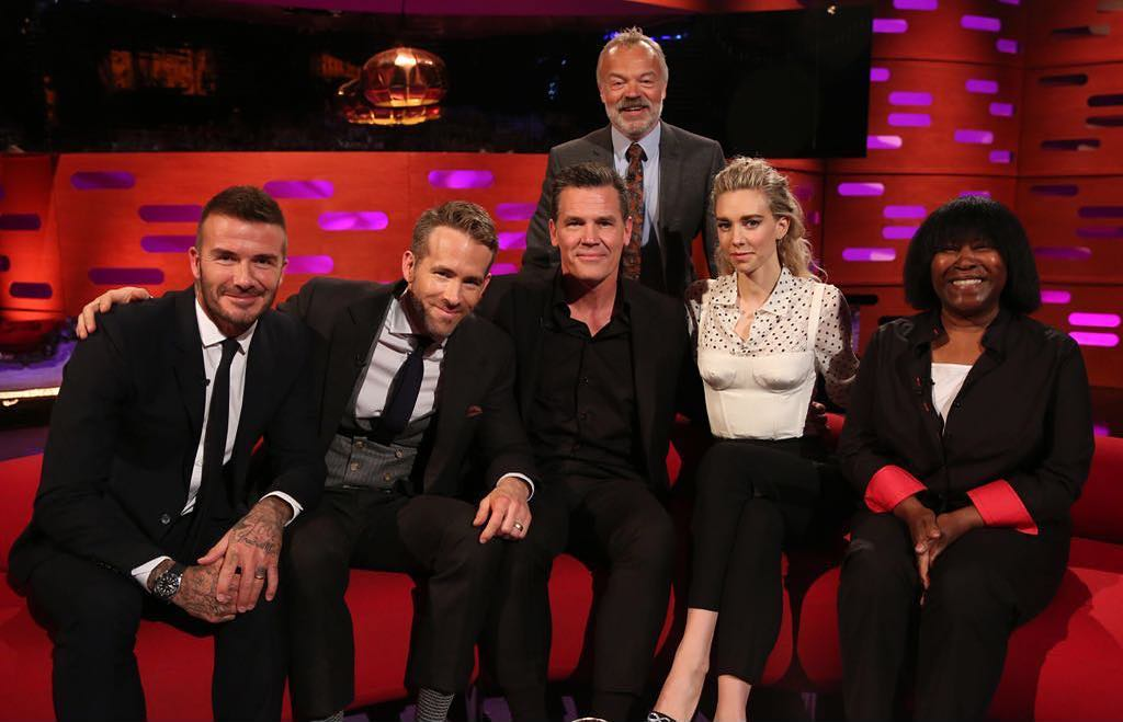 David Beckham Instagram: Join me tonight on the  with this great line up! ...