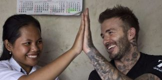 David Beckham Instagram: Meet 15-year-old Sripun from Indonesia. I am excited to tell you that she will b...