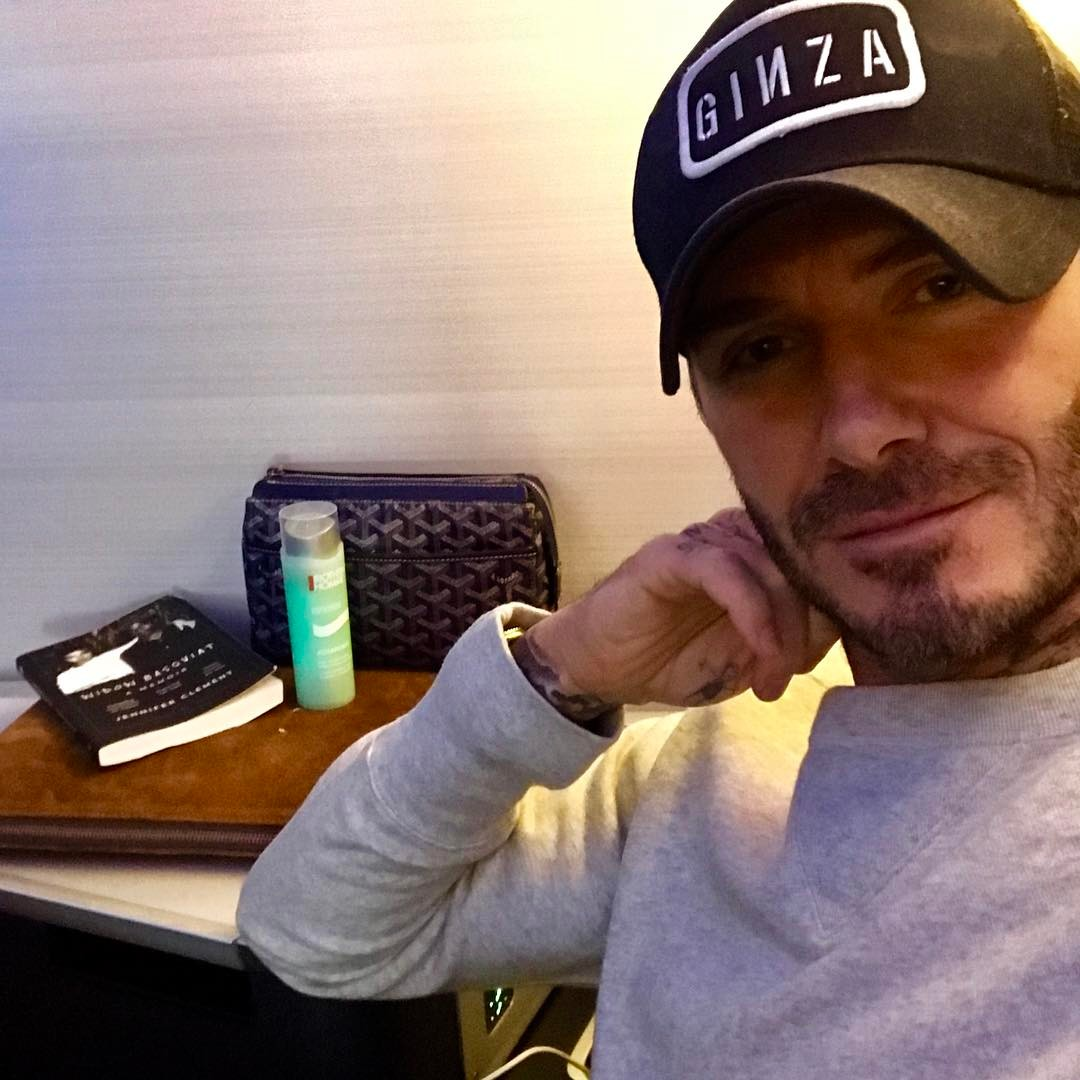 David Beckham Instagram: Now time to relax , catch up on some sleep and watch a box set ...