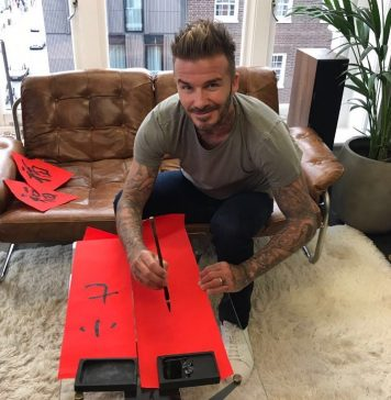 David Beckham Instagram: Sending New Year well wishes to all those celebrating!     ...
