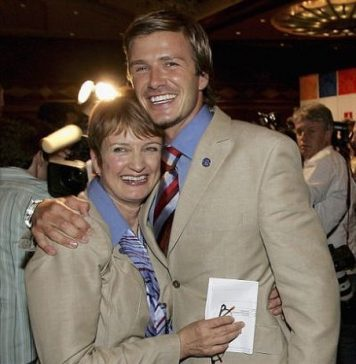 David Beckham Instagram: Such sad news this morning losing Dame Tessa who was a passionate & amazing woma...