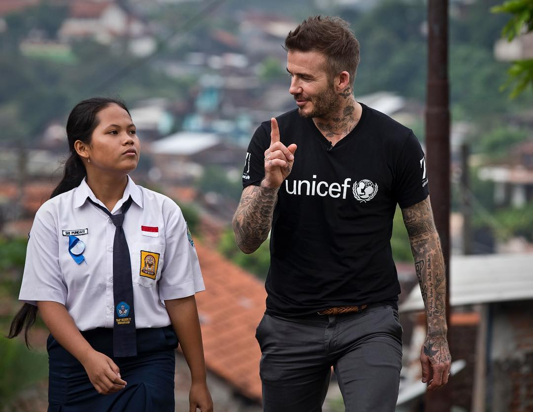 David Beckham Instagram: Teenager. Inspiration. Change-maker. I'm so happy that you have all had the chan...