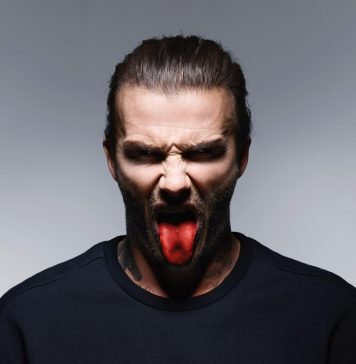David Beckham Instagram: The Tongue is back.  for ...