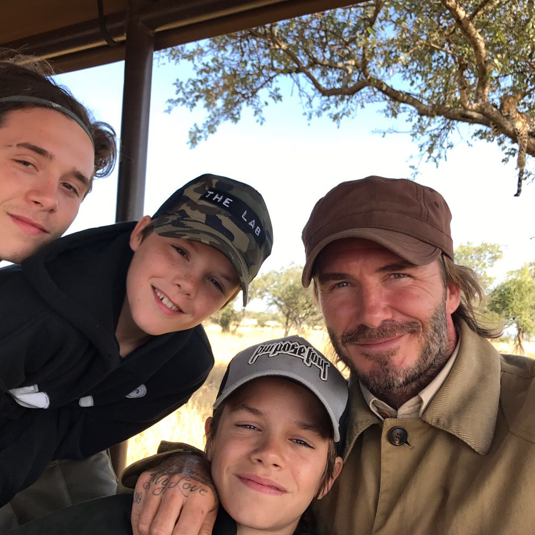 David Beckham Instagram: The moments I share with my children are incredibly special. Whether that's laug...