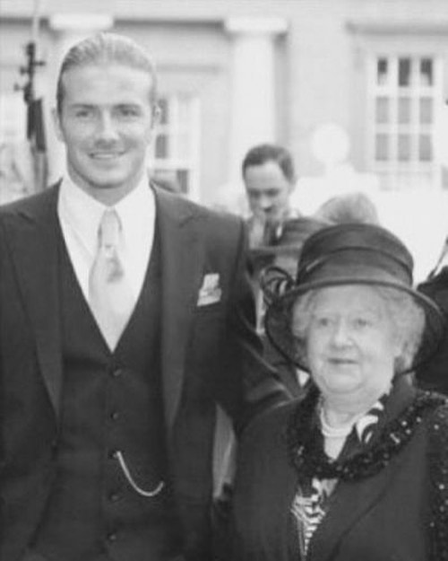 David Beckham Instagram: Today would of been my Nan's birthday someone that was so special in so many dif...