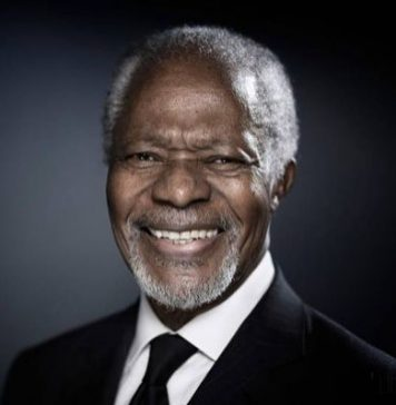 David Beckham Instagram: We have lost a humanitarian legend and leader. In 2005, Kofi Annan as the UN Sec...