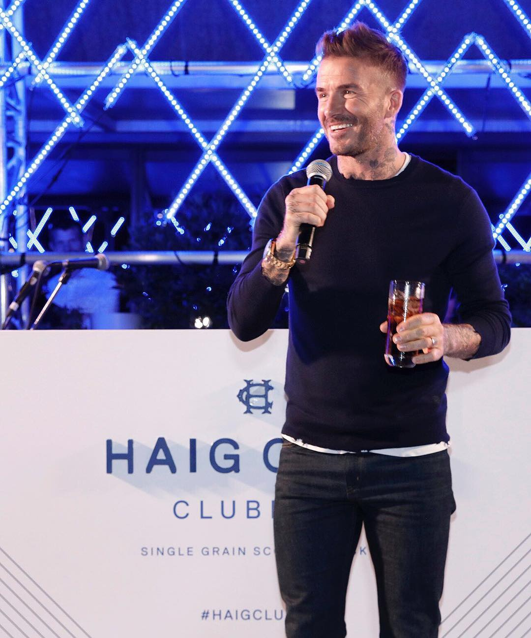 David Beckham Instagram: Welcome to Haig Club South Africa.      ...