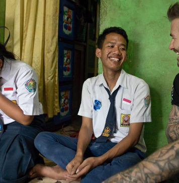 David Beckham Instagram: What an incredible few days in Indonesia seeing how UNICEF's anti-bullying progr...