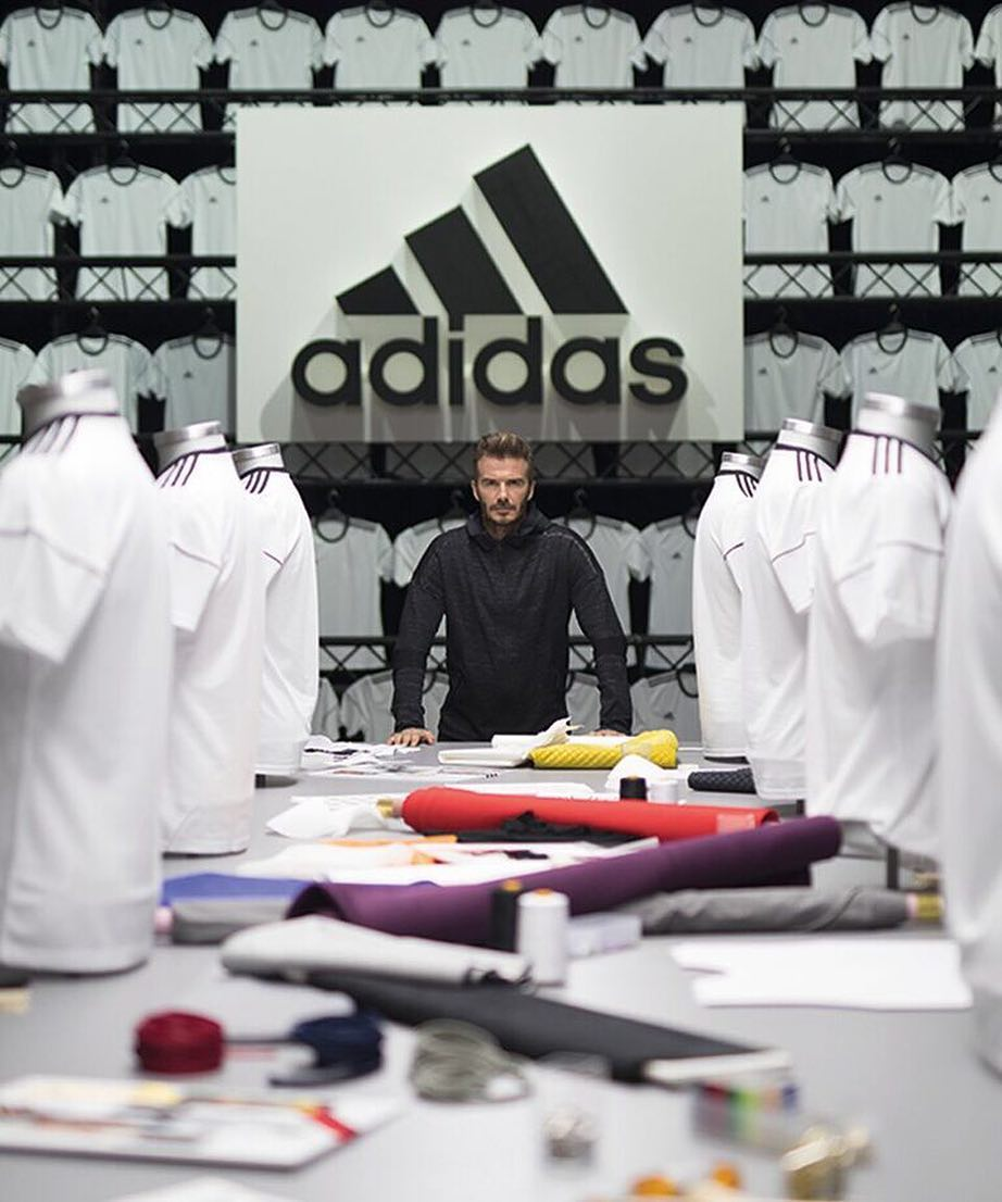 David Beckham Instagram: Yesterday I had the pleasure of spending the day with 11 talented creators in an...
