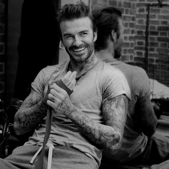 David Beckham Instagram:  is gearing up, share your  looks...