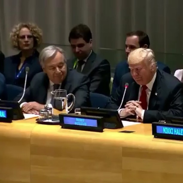 Donald J. Trump Instagram:   ・・・ This morning, President  delivered remarks at the Global Call to Action on...