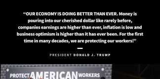 Donald J. Trump Instagram: Our Economy is doing better than ever. Money is pouring into our cherished DOLLA...