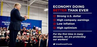 Donald J. Trump Instagram: The economy is doing better than ever before! ...