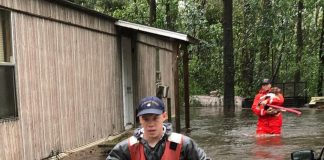 Donald J. Trump Instagram: Via  Members of Shallow-Water Response Team 3 continue to rescue pets stranded b...