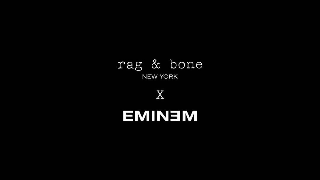 Eminem Instagram:   LIMITED COLLAB COLLECTION - AVAILABLE JULY 13 LONDON POP UP / JULY 14 ONLINE -...