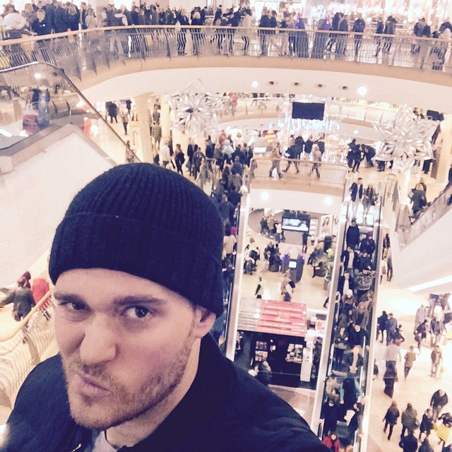 Michael Bublé Instagram: 1st day of Xmas shopping.       ...