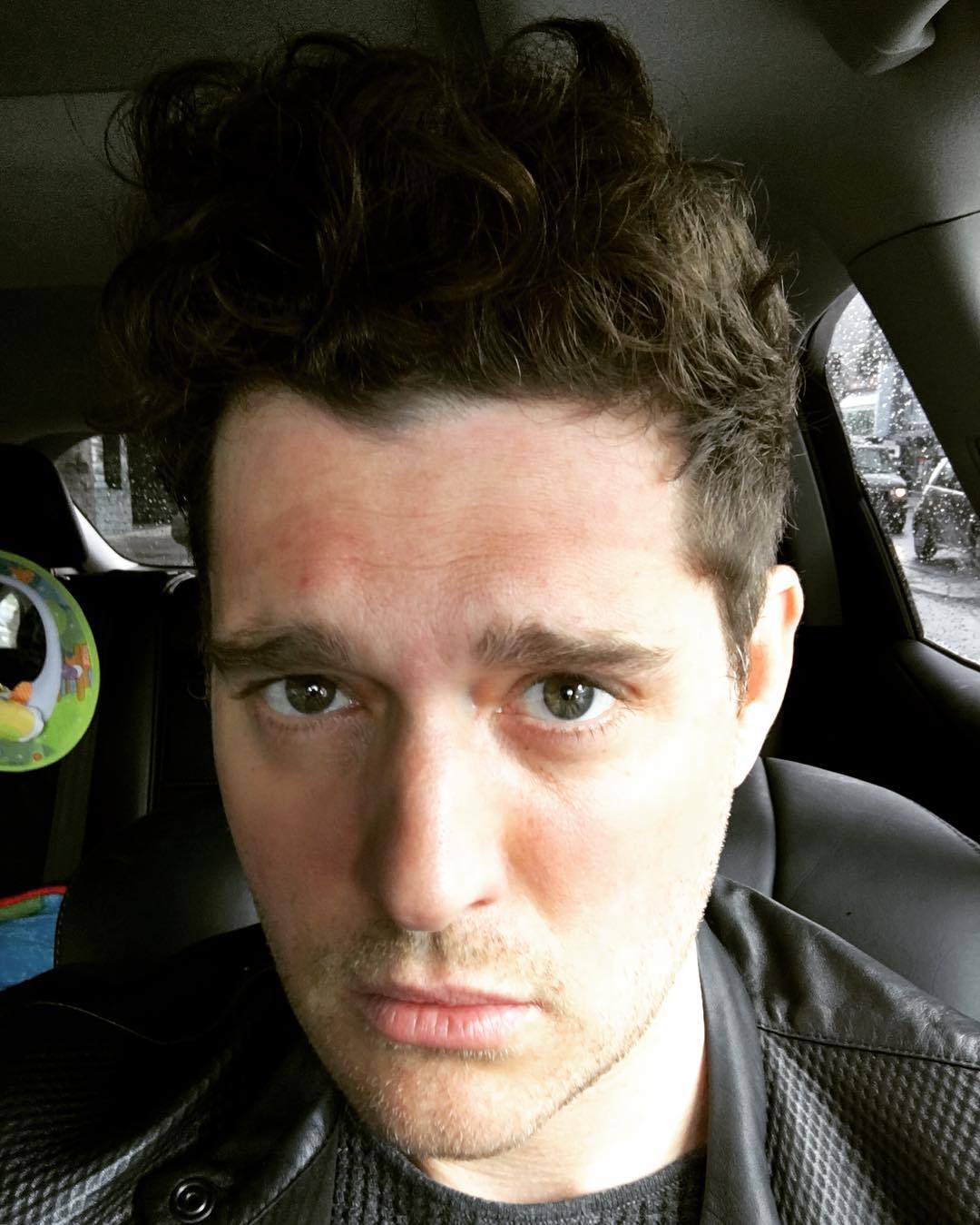 Michael Bublé Instagram: A tbt to 4 minutes ago when I realized How badly I need a haircut.    ...