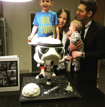 Michael Bublé Instagram: Celebrating this birthday with my favorite people !! Memories are made of this. ...