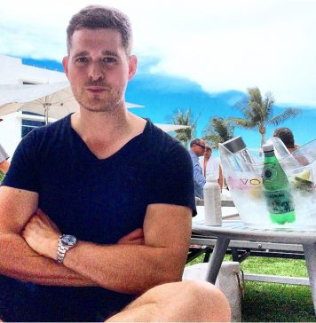 Michael Bublé Instagram: First day of our Miami vacation and I