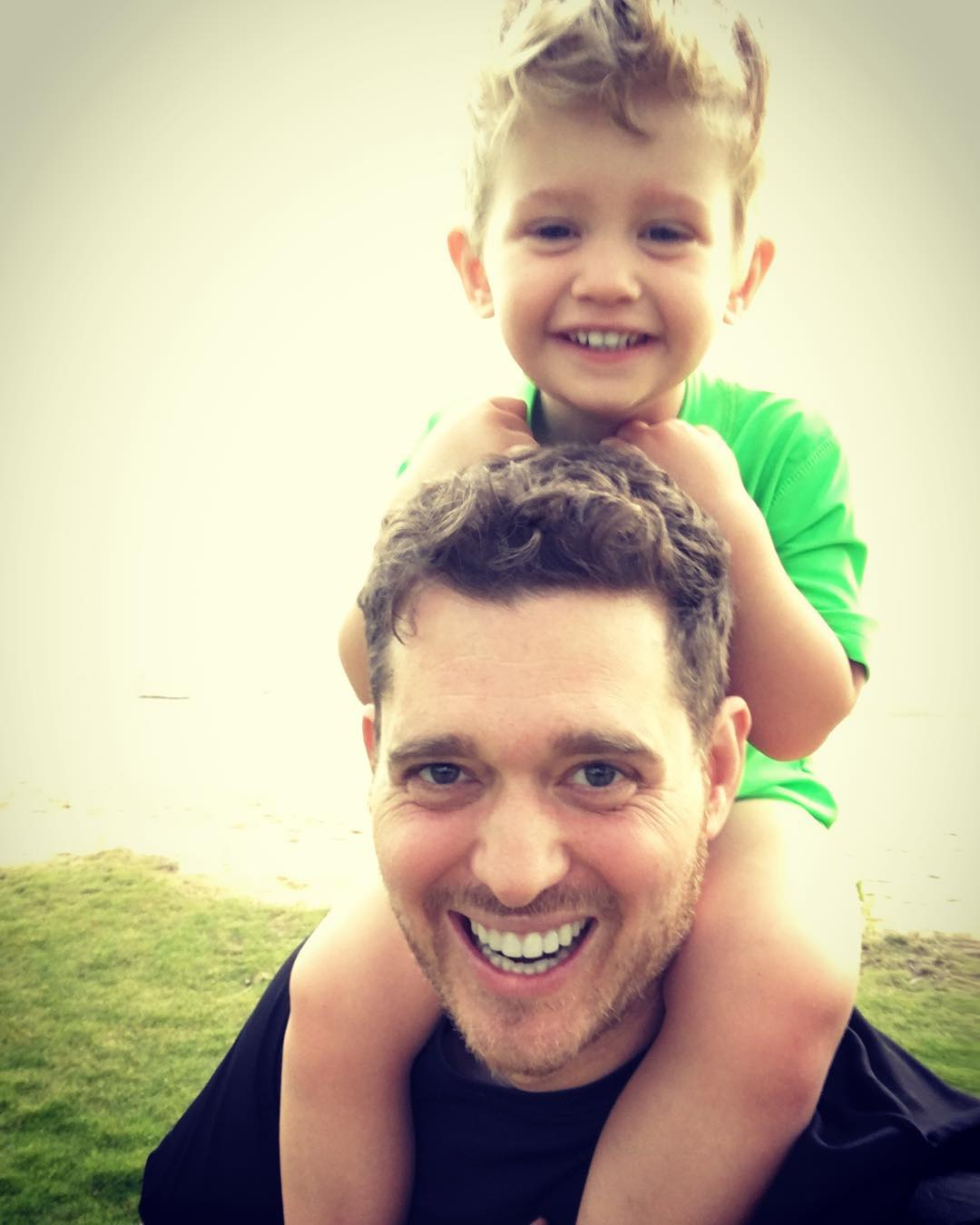 Michael Bublé Instagram: I hate posting just anything , so Instead ,Im posting my everything. We're on th...