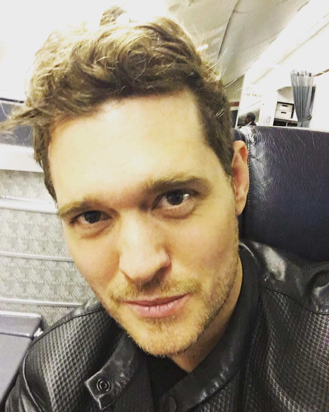 Michael Bublé Instagram: L.A here I come !!! Only 18 hours and 1 connection to go !!!!    ...