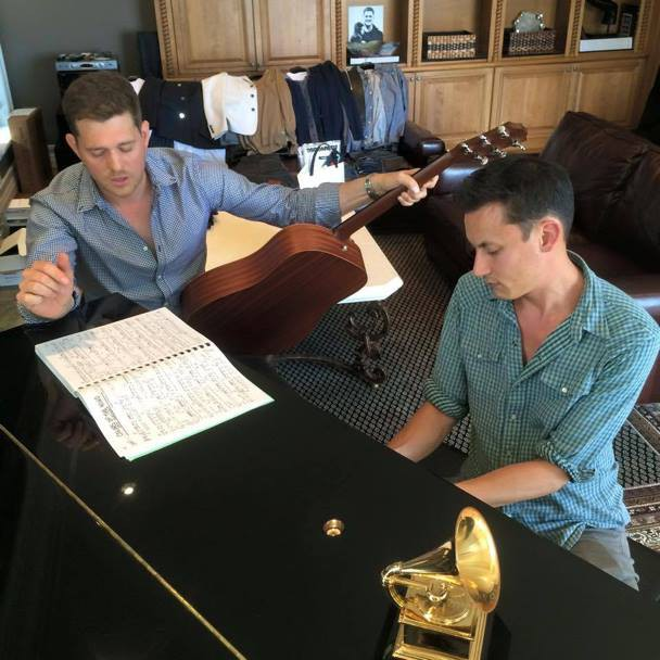 Michael Bublé Instagram: Writing for the next record with  !   ...