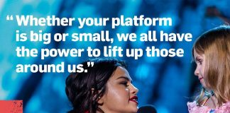 Selena Gomez Instagram: So excited to be a part of the WE Day inspiration once again!  Watch  on ABC Aug...