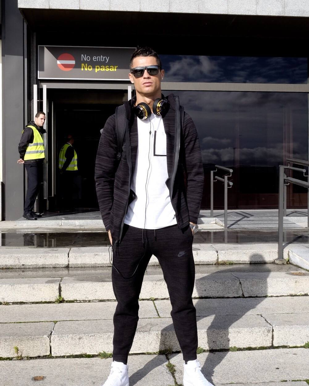 fbba35602a1 Cristiano Ronaldo Instagram  Going to Zurich for the day ...