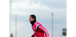 Preparing for the next match against Córdoba. ...