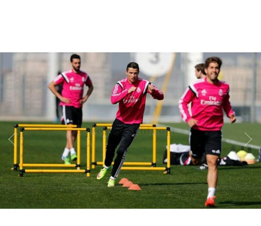 Training session for the next match. ...