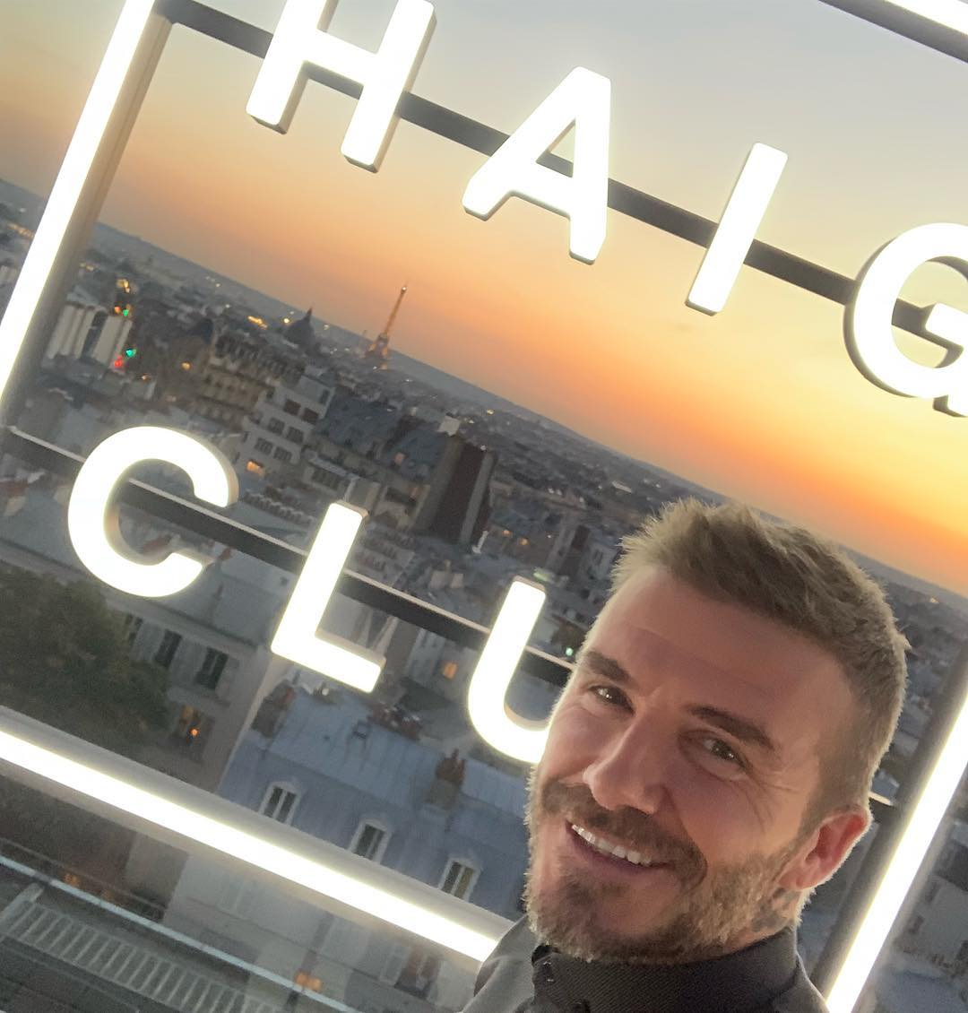 David Beckham Instagram: Great  launch in Paris last night thank you to the whole team for the support  ...