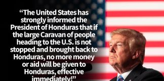Donald J. Trump Instagram: The United States has strongly informed the President of Honduras that if the la...