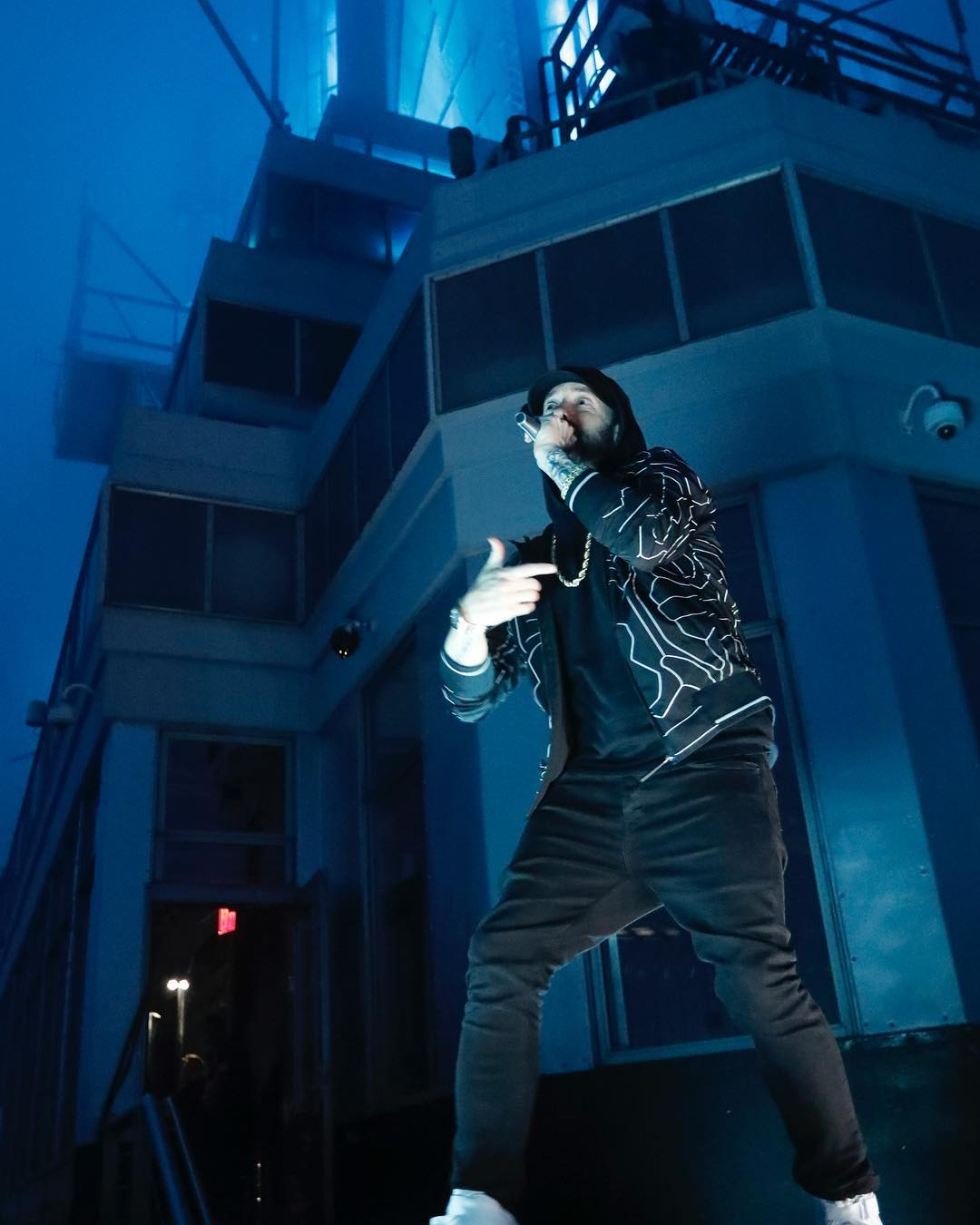 Eminem Instagram: Just rappin on top of the EMpire State Bldg last night on  dropped some gems on ...