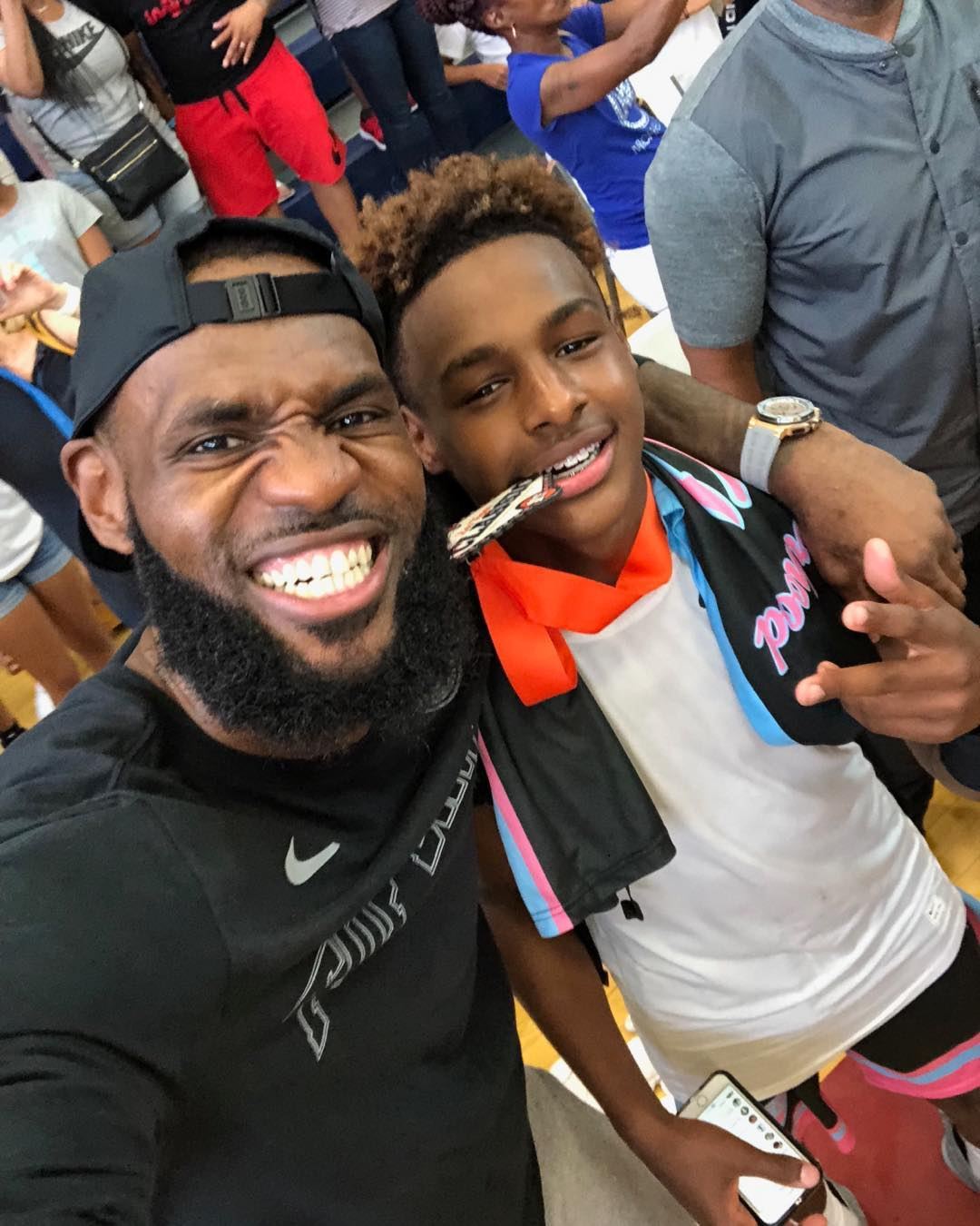 LeBron James Instagram: Happy 14th Bday to my first born Bronny! U make me proud every single day to say...
