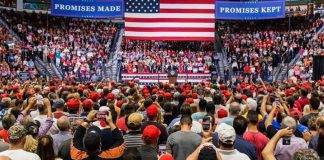 Donald J. Trump Instagram: Fantastic evening in Florida with great PATRIOTS at a beautiful  Get out and Vo...