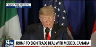 ・・・ This morning in Argentina, President Trump, Mexican President Pena Nieto, ...