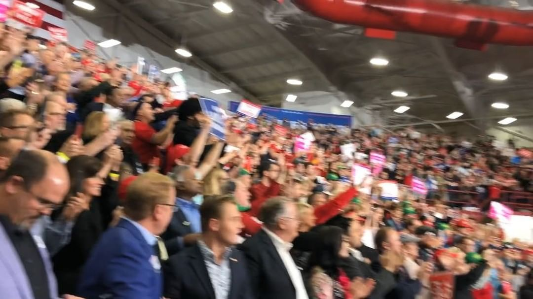 Donald J. Trump Instagram: WOW - THANK YOU INDIANA — GREAT AMERICAN PATRIOTS, LOVE YOU!!...