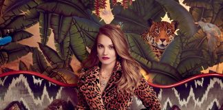 Victoria Beckham Instagram: My  fitted leopard coat in the Financial Times  Christmas Special! Discover it a...