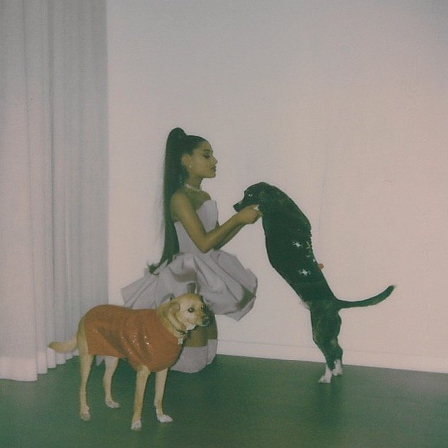 Ariana Grande Instagram: forgot to thank myron and toulouse for being the realest bitches i've ever known...
